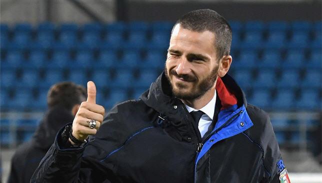 ليوناردو بونوتشي لاعب يوفنتوس الإيطالي
