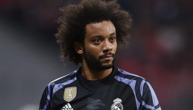 مارسيلو لاعب ريال مدريد الإسباني