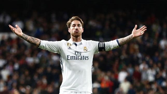 سيرجيو راموس قائد فريق ريال مدريد الإسباني
