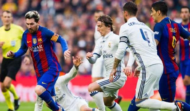 ريال مدريد × برشلونة