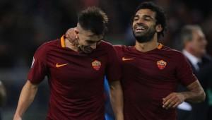 محمد صلاح نجم فريق روما الإيطالي