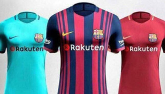 قمصان برشلونة للموسم القادم