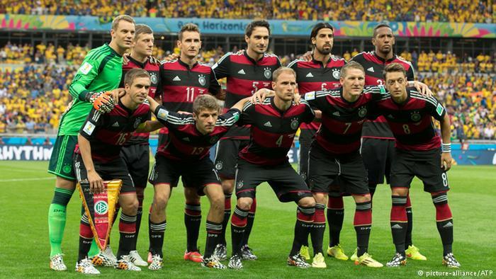 نجوم منتخب ألمانيا في مباراة 7-1 الشهيرة ضد البرازيل. لن يشارك أحدهم في كأس القارات بروسيا 2017