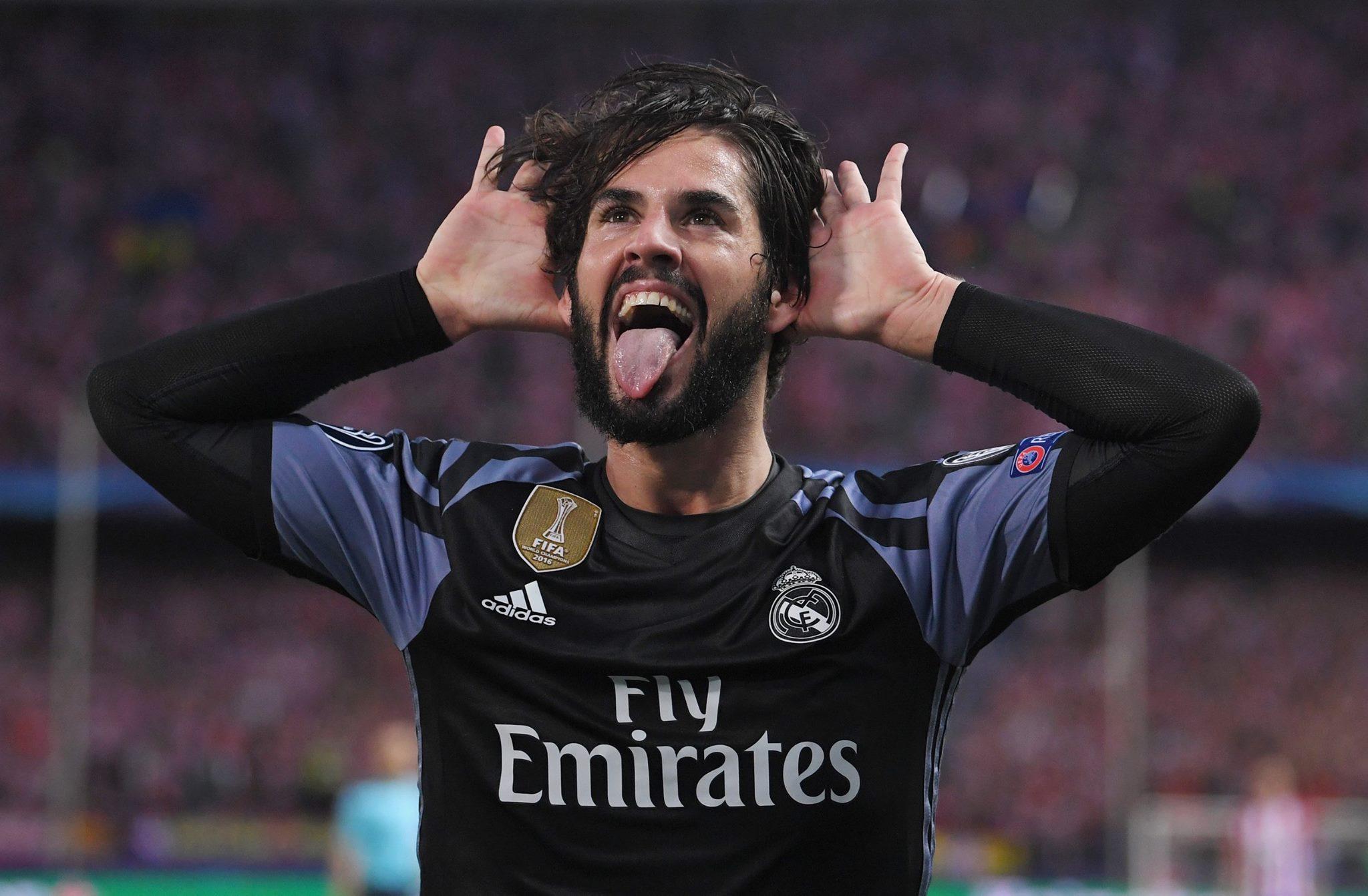ايسكو يتقدم لريال مدريد بهدف رأئع في شباك مالاجا