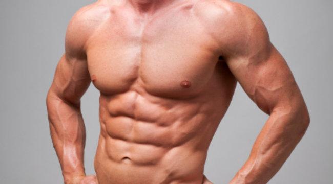 عضلات بطن قوية
