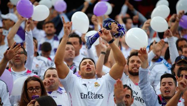 مشجعو ريال مدريد الإسباني