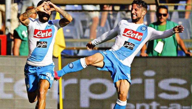 نابولي يسحق سامبدوريا برباعية ويتأهل لملحق دوري أبطال أوروبا - نابولي - كرة قدم - سبورت360 عربية