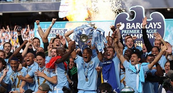 مانشستر سيتي بطل الدوري الإنجليزي الممتاز 11\2012