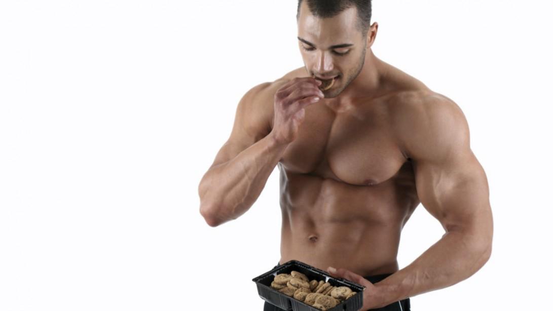 الغذاء وبناء العضلات