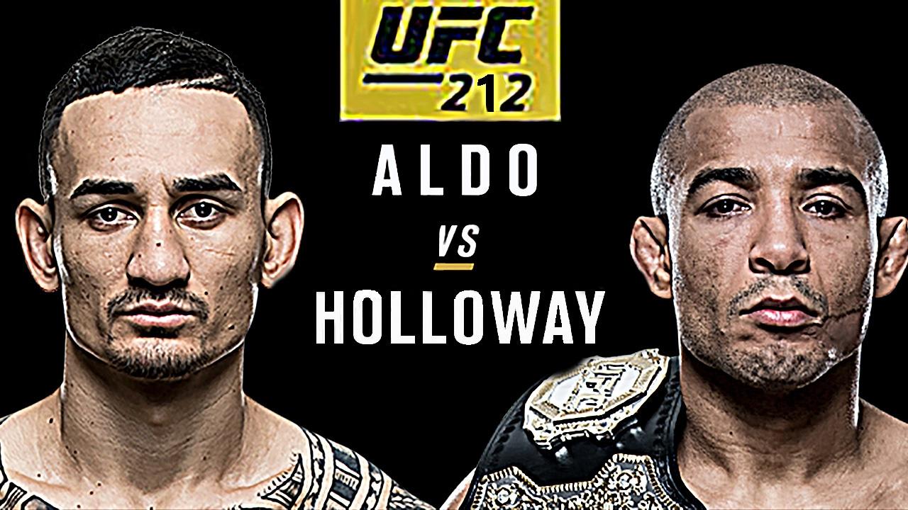 مواجهة مثيرة في UFC212