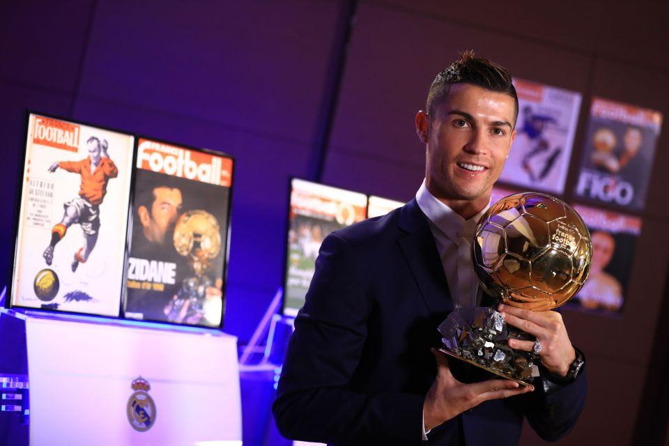 كريستيانو رونالدو - الكرة الذهبية 2016