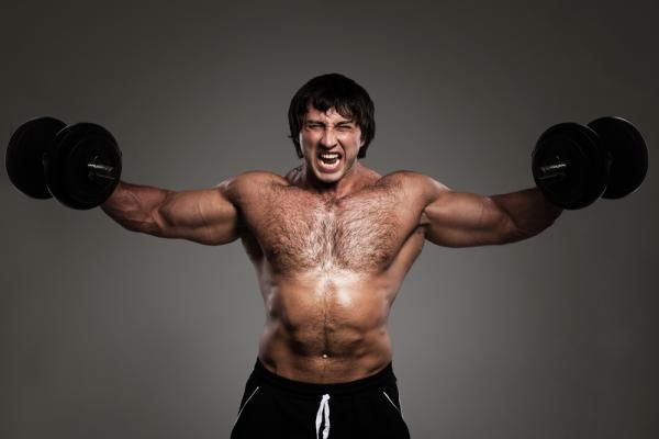 الضغط على العضلة