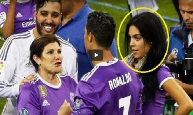 فيديو.. صديقة رونالدو تخطف الأنظار في احتفالات دوري