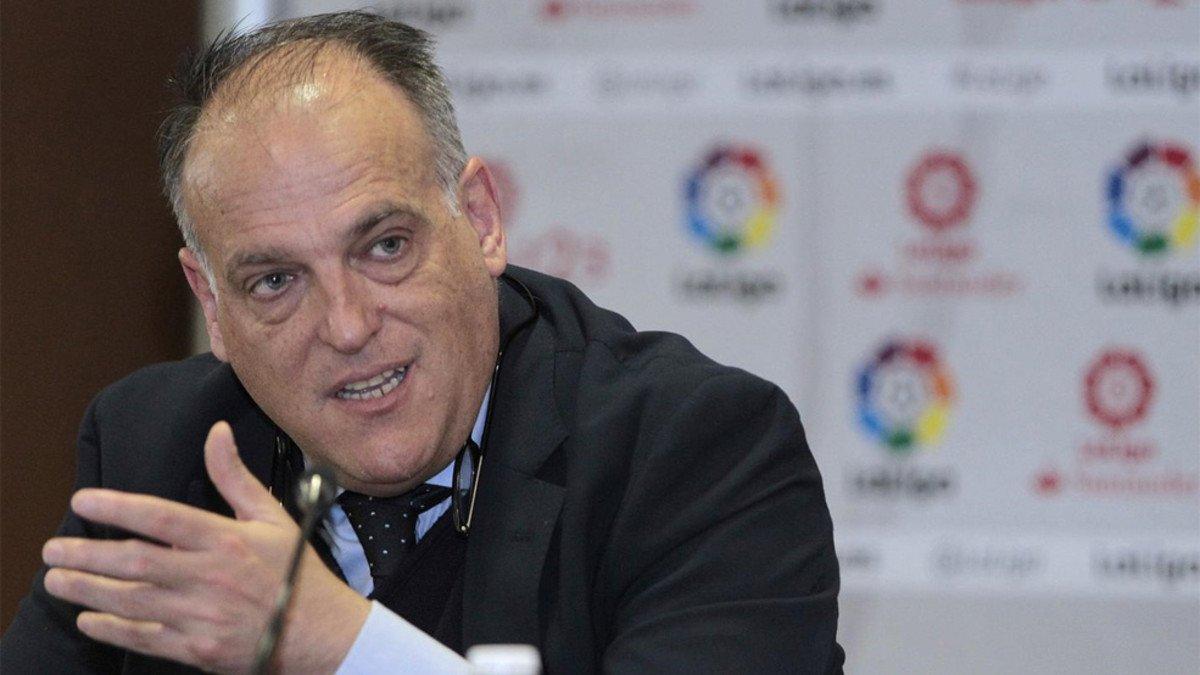 رئيس رابطة الدوري الإسباني مؤمن ببراءة رونالدو - كرة قدم - كرة إسبانية - سبورت360 عربية