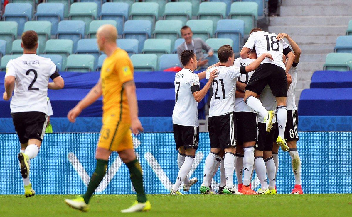 ألمانيا × أستراليا   كأس القارات 2017