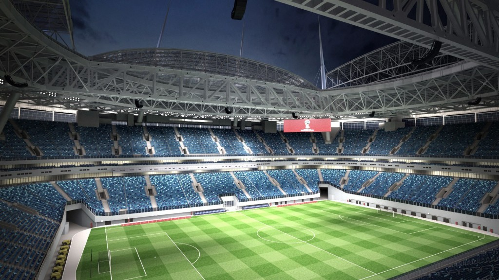 1- ملعب كريستوفسكي | سانت بطرسبرج