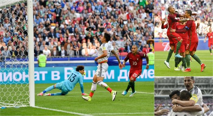 البرتغال × المكسيك | كأس القارات 2017