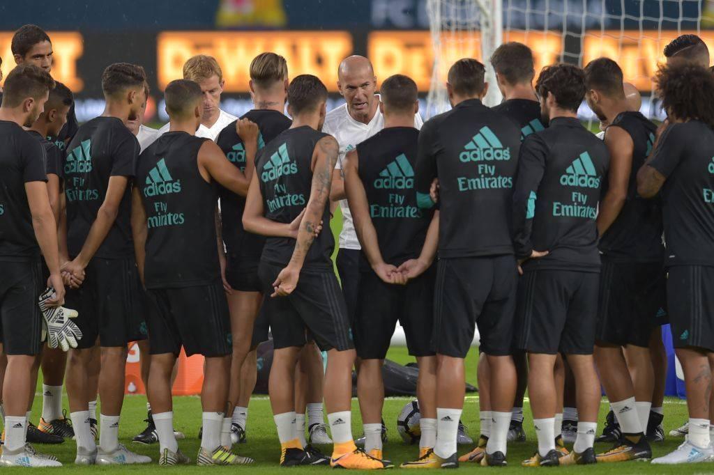 تدريبات ريال مدريد قبل الكلاسيكو