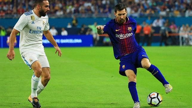 ليونيل ميسي لاعب فريق برشلونة الإسباني