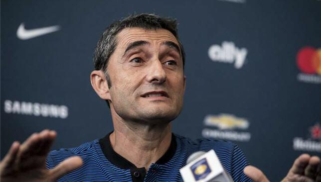 إرنستو فالفيردي مدرب برشلونة