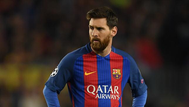 ليونيل ميسي لاعب برشلونة الإسباني