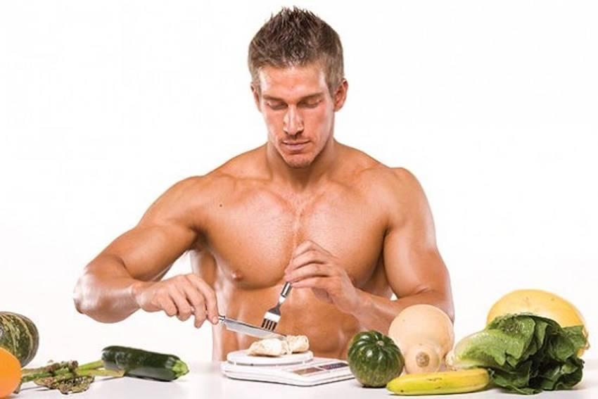 بناء العضلات والطعام الصحي
