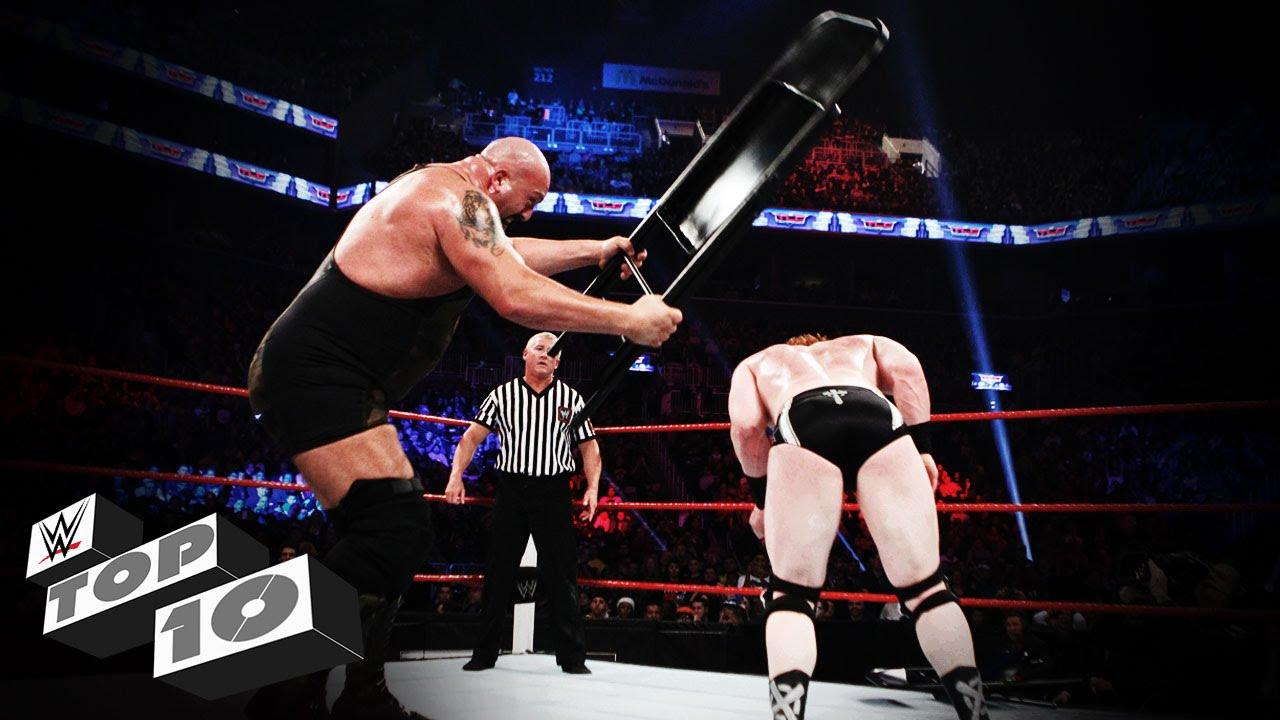ضربات الكرسي على حلبات المصارعة