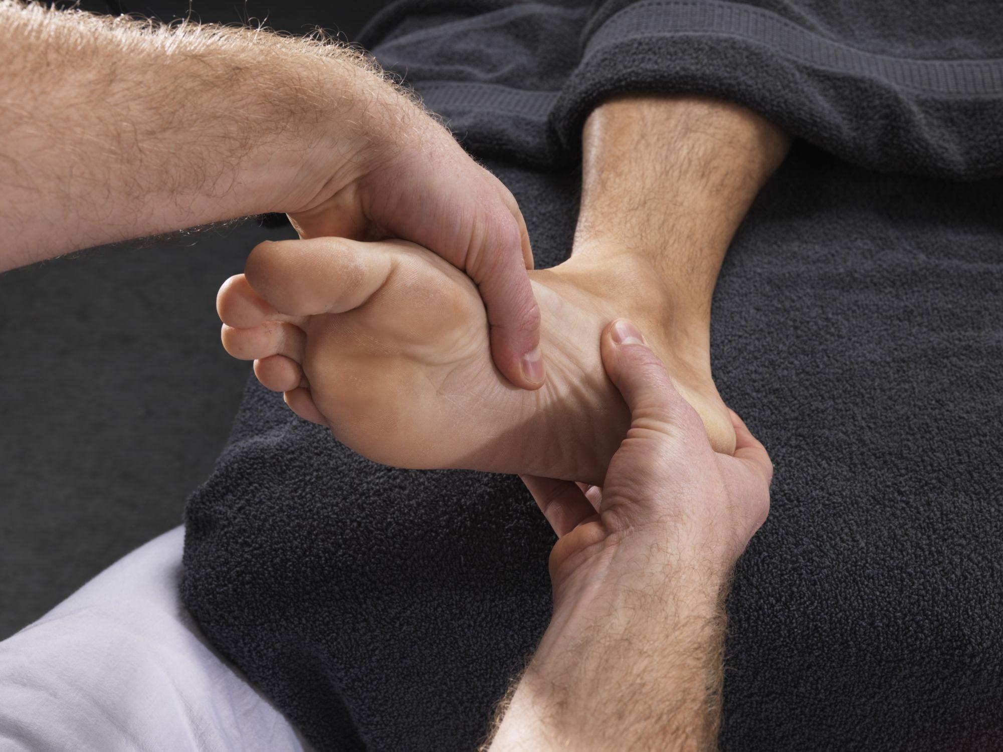 إصابات القدم
