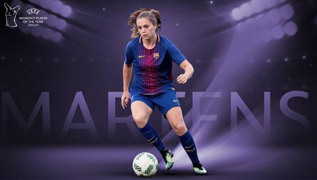 نتيجة بحث الصور عن الهولندية ليكي مارتينيز لاعبة برشلونة