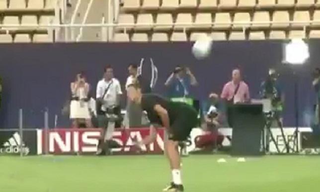فيديو.. تصرفات مضحكة لرونالدو في تدريب ريال مدريد - كرة إسبانية - رونالدو - سبورت360 عربية