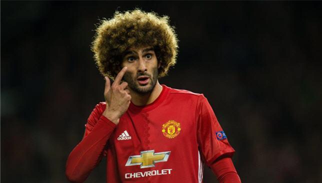 مروان فيلايني لاعب مانشستر يونايتد