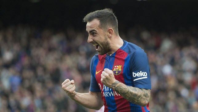 باكو ألكاسير مهاجم برشلونة