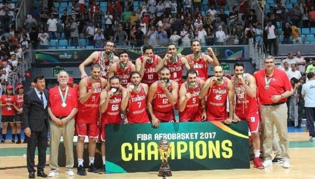 منتخب تونس يحتفل باللقب