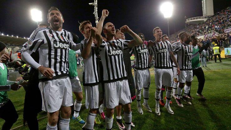 يوفنتوس بطل الدوري الإيطالي