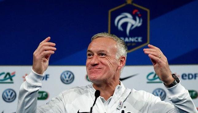 ديديه ديشان مدرب المنتخب الفرنسي