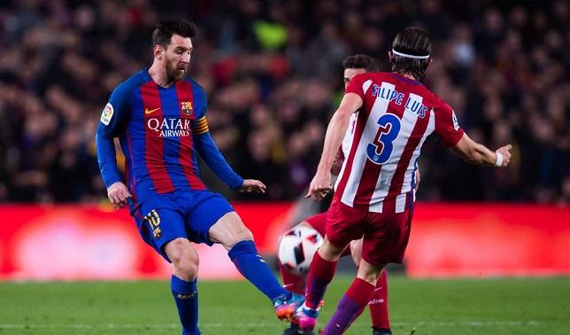 ميسي كابوس أتلتيكو مدريد .. أرقام مجنونة