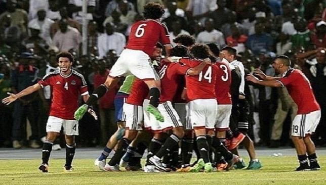 Image result for منتخب مصر لكرة القدم - تأهله لمونديال روسيا