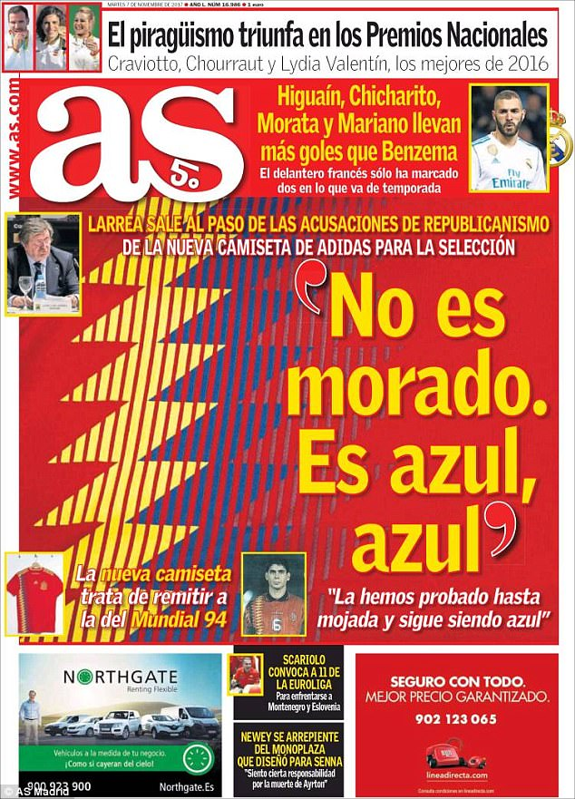 4618B07500000578-5057937-The_controversy_made_front_page_news_in_Spain_on_Tuesday_with_AS-a-96_1510055797908