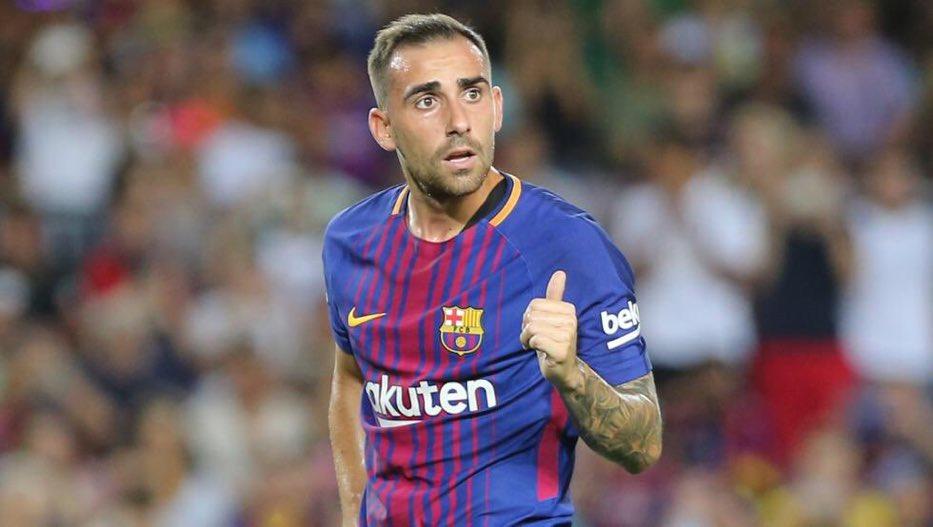 هدف برشلونة الأول في مرمى سبورتينغ لشبونة