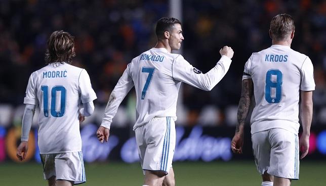 ريال مدريد يكتسح تشكيلة الأسبوع في دوري الأبطال - كرة قدم - كرة إسبانية - سبورت360 عربية