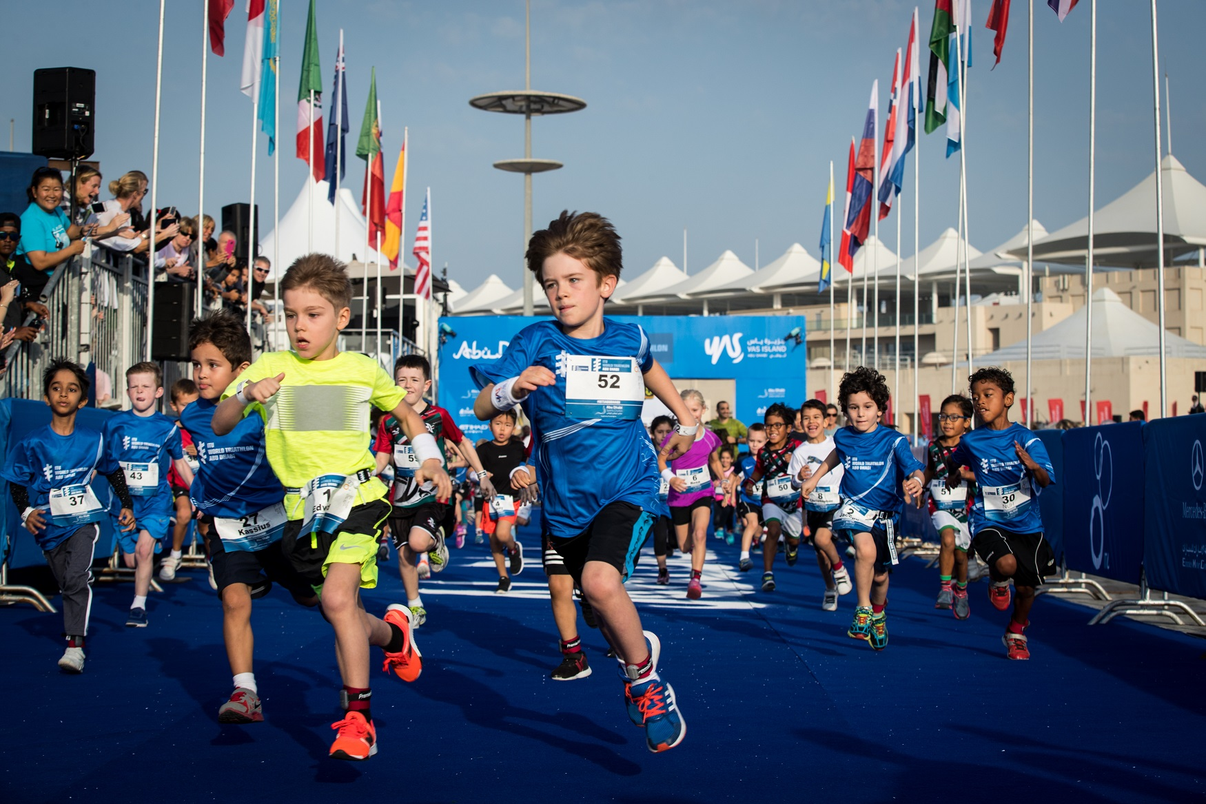 The ITU World Triathlon Abu Dhabi 2018 will see the return of the Junior Triathlon