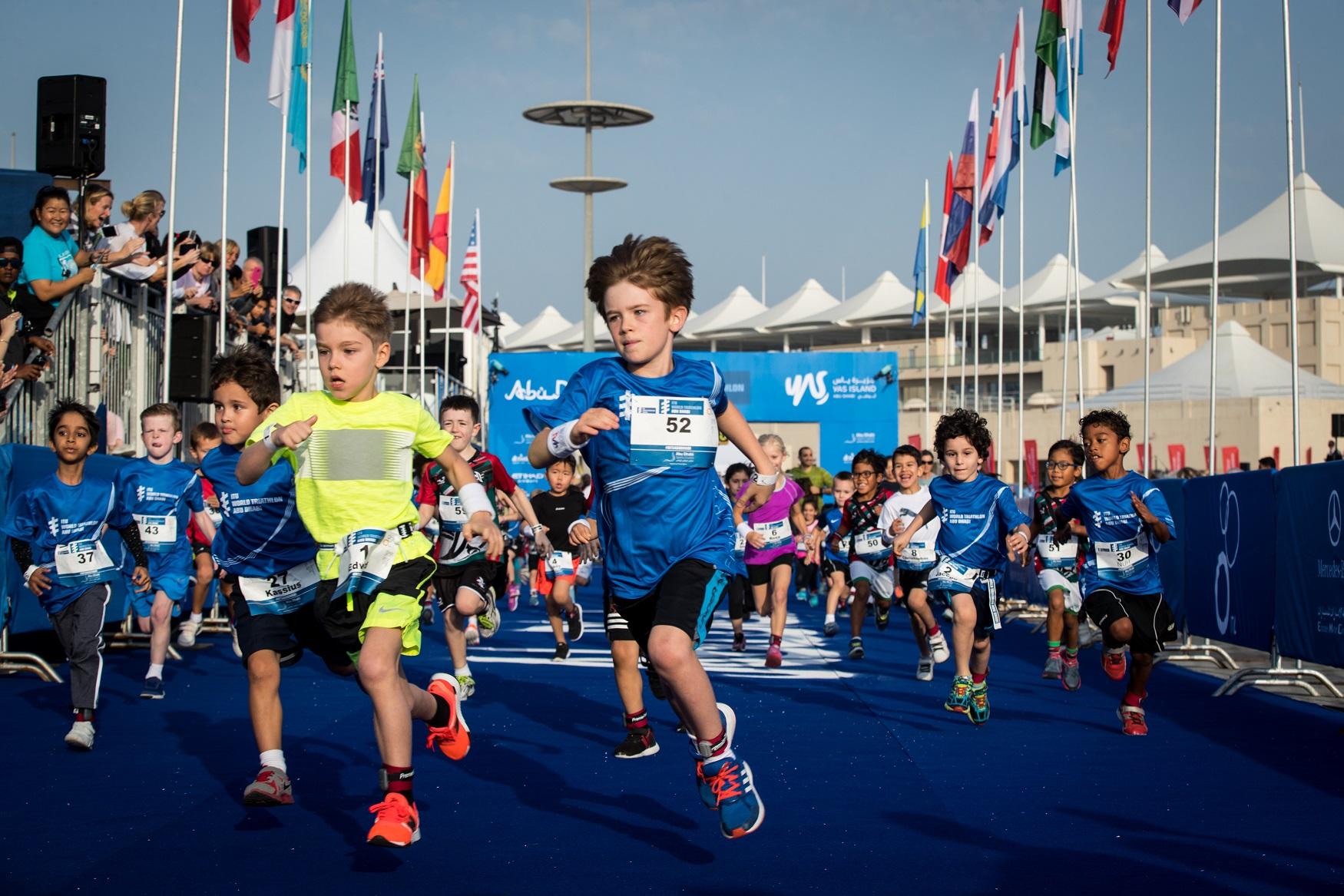 The ITU World Triathlon Abu Dhabi 2018 will see the return of the Junior Triathlon