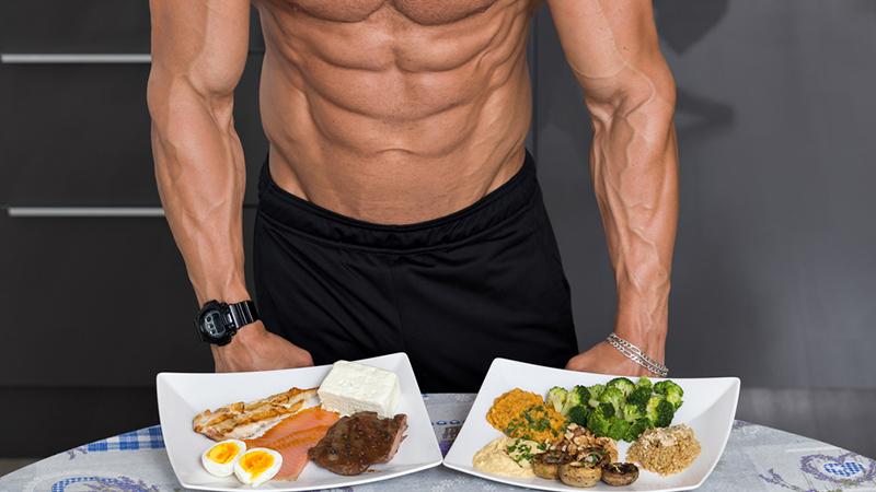 غذاء العضلات