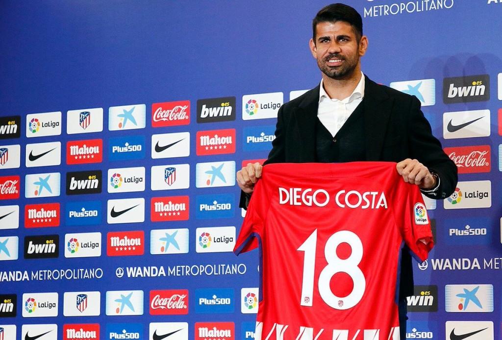 5- دييجو كوستا - أتلتيكو مدريد