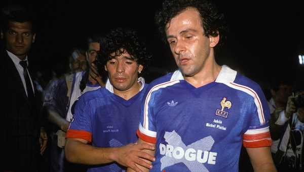 Michel Platini Fete Son Jubile