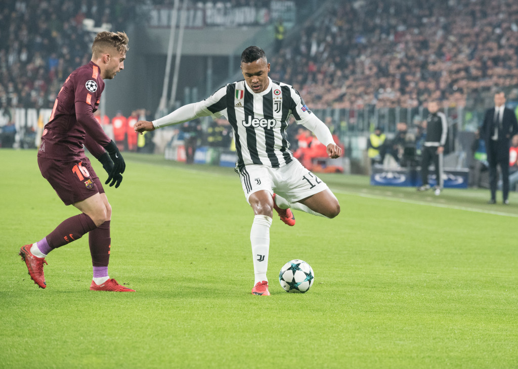Alex Sandro (Juventus FC) during the Champions League match