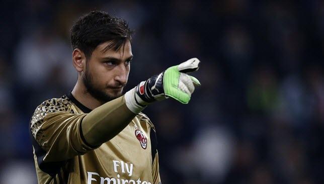 Juventus-Donnarumma