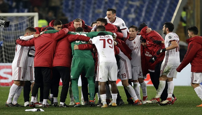 65eb2c20f92f7 قائمة وأسماء وأرقام لاعبي ميلان في الدوري الإيطالي 2018 - سبورت 360 عربية