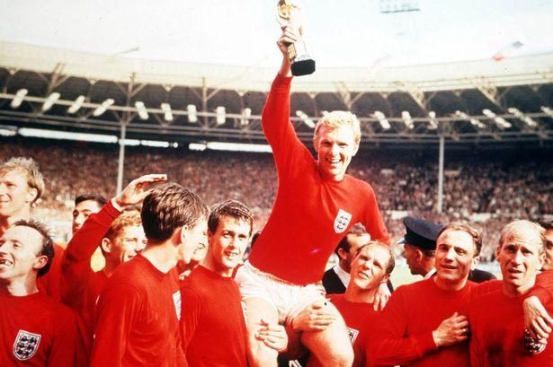 منتخب إنجلترا الوحيد الذي حقق لقب كأس العالم في عام 1966