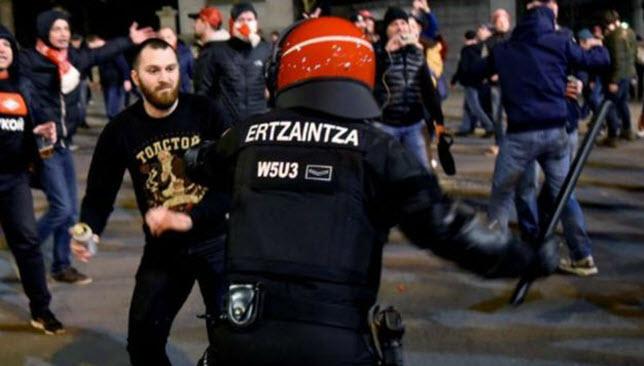 أخبار الدوري الإسباني: الدوري الإسباني يشهد  حداداً  بعد وفاة شرطي باسكي -  سبورت 360 عربية